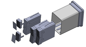Equatorial port plug component design