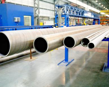 tokamak cooling water piping fabrication