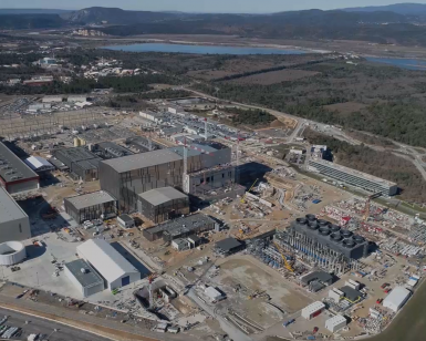 ITER by drone March 2020
