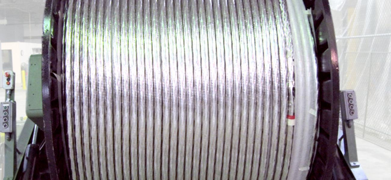 Toroidal field conductor cabling at New England Wire Technologies