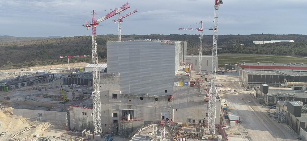 Close up of tokamak complex - February 2020
